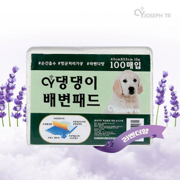 댕댕이 배변패드 실속형 15g 100매