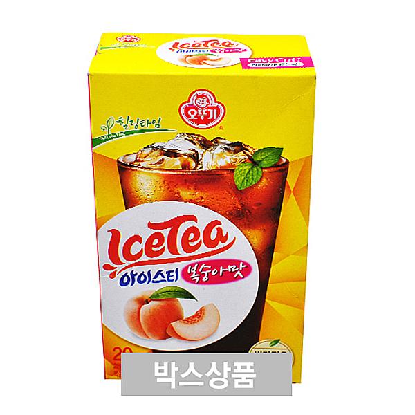 오뚜기 아이스티 복숭아맛 14g x 20개입 X 8EA