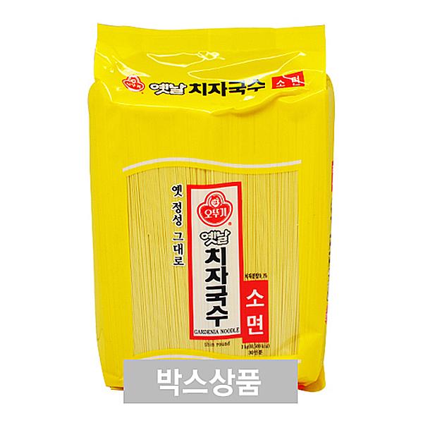 오뚜기 옛날 치자국수 소면 3kg 30인분 X 4EA