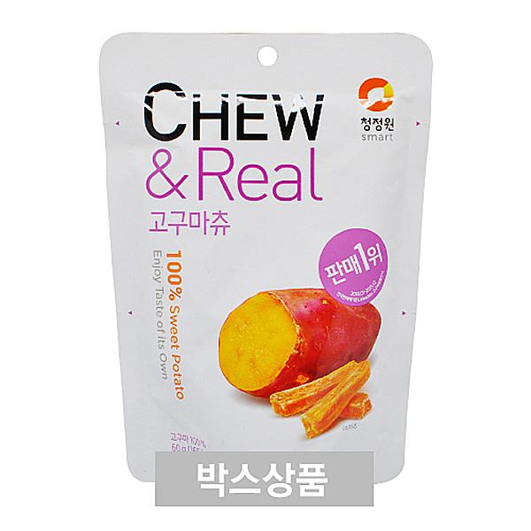 청정원 CHEW&Real 고구마츄 60g X 30EA