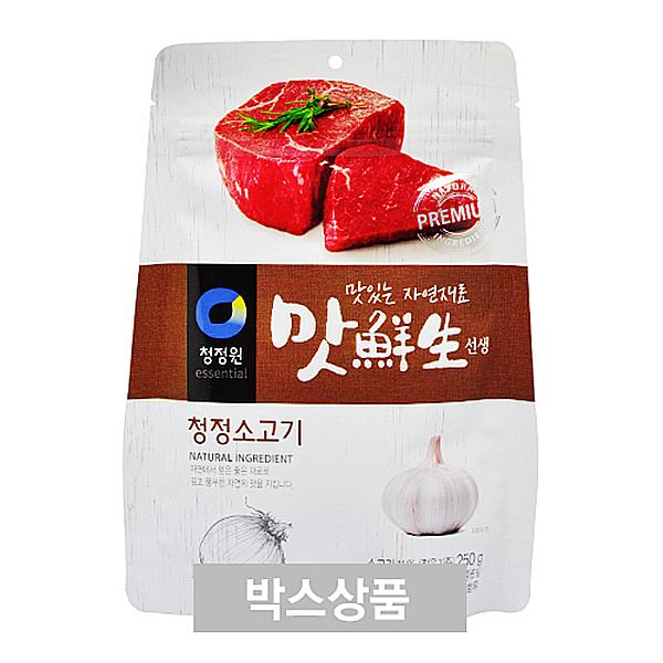 청정원 맛선생 청정 소고기 250g X 12EA