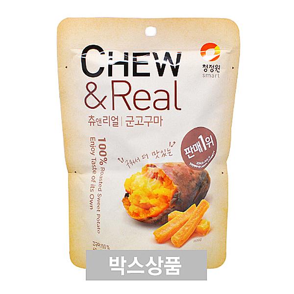 청정원 CHEW&Real 츄앤리얼 군고구마 60g X 30EA
