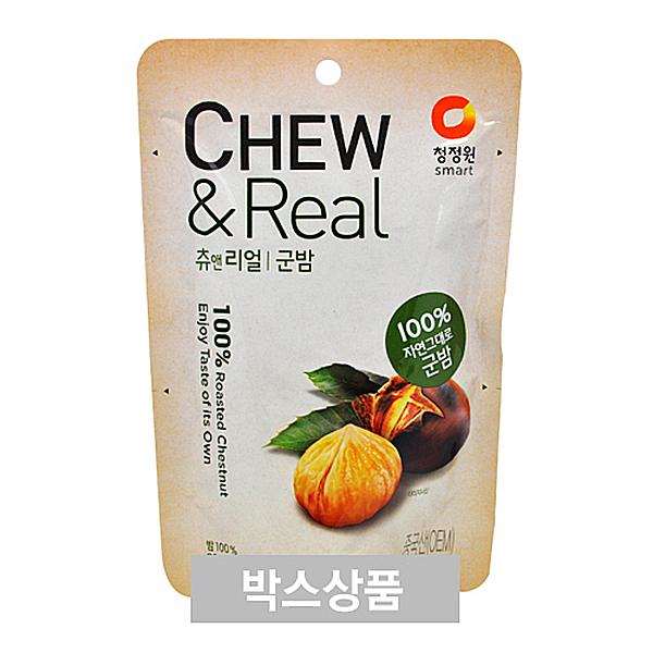 청정원 CHEW&Real 츄앤리얼 군밤 80g X 30EA