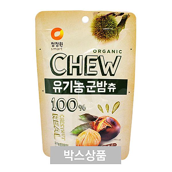 청정원 CHEW 유기농 군밤츄 80g X 30EA
