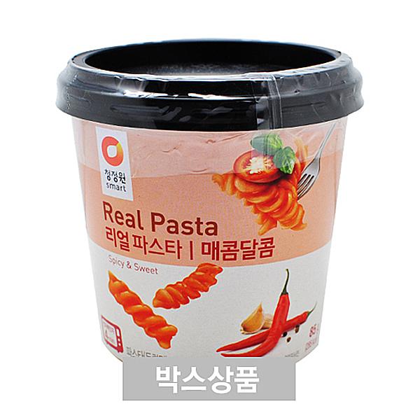 청정원 Real Pasta 리얼 파스타 매콤달콤 85g X 12EA
