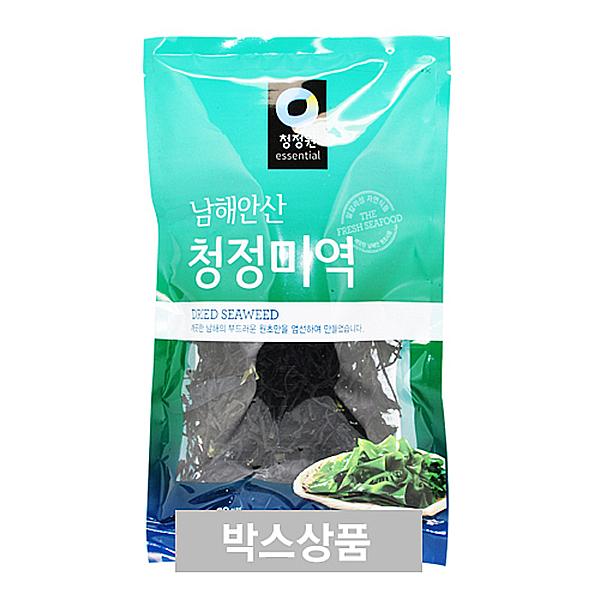 청정원 남해안산 청정 미역 50g 20인분 X 40EA