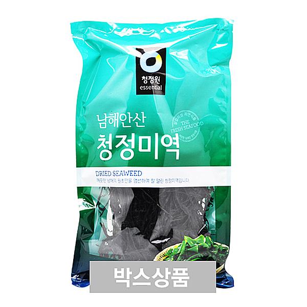 청정원 남해안산 청정 미역 150g 60인분 X 20EA