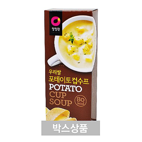 청정원 우리쌀 포테이토 컵수프 60g(20g x 3개입) X 24EA