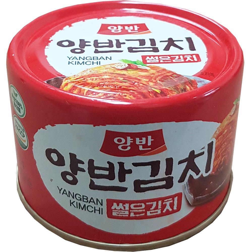 동원 양반 썰은김치 캔 통조림 160g X 48