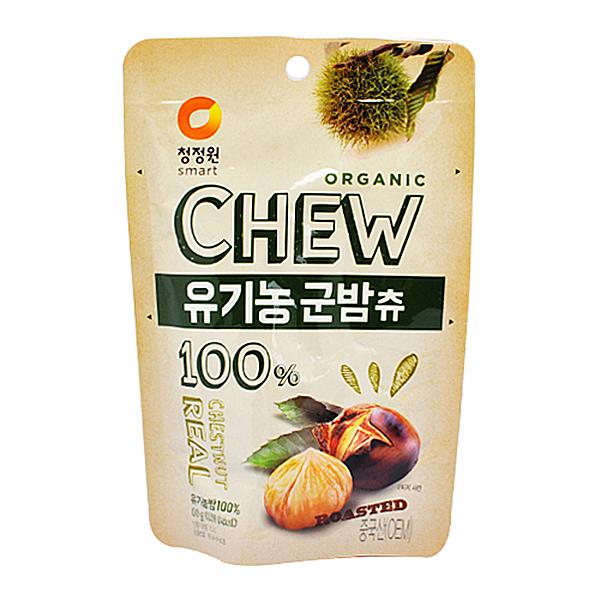 청정원 CHEW 유기농 군밤츄 80g