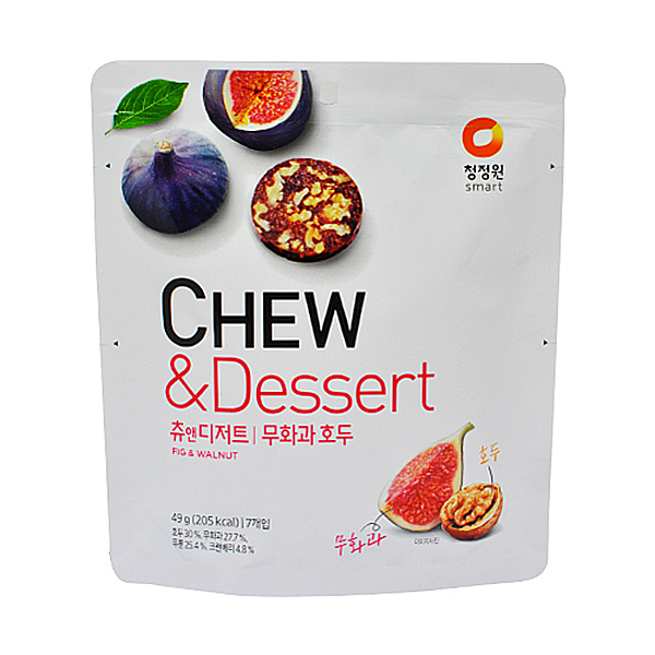 청정원 CHEW&Dessert 츄앤디저트 무화과 호두 49g
