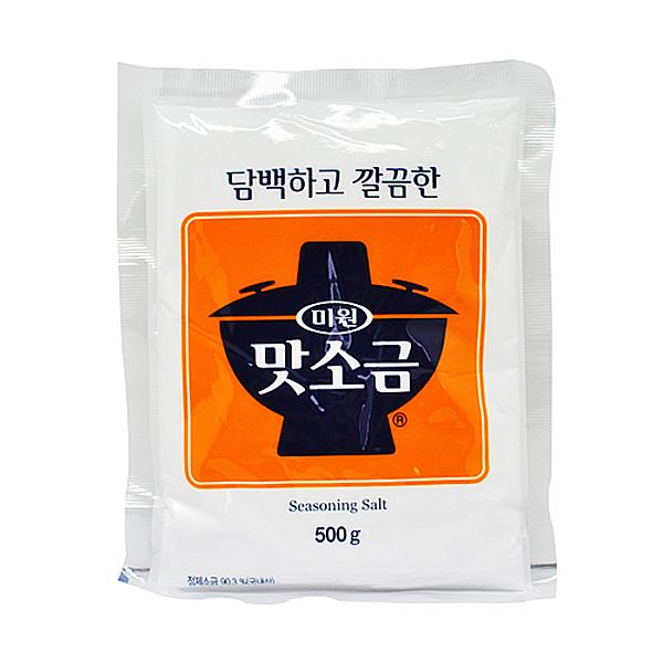 대상 청정원 미원 맛소금 500g