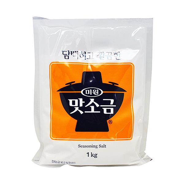 대상 청정원 미원 맛소금 1kg