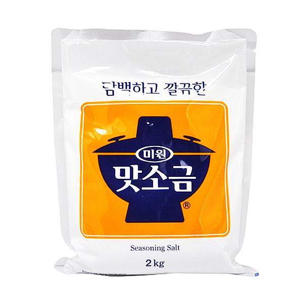 대상 청정원 미원 맛소금 2kg