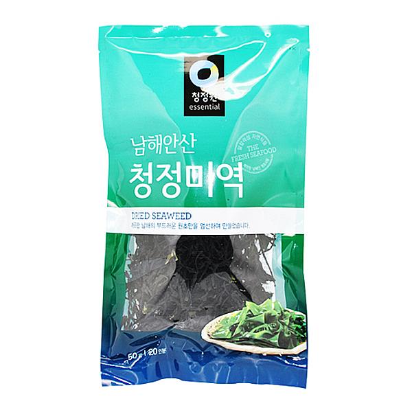 청정원 남해안산 청정 미역 50g 20인분