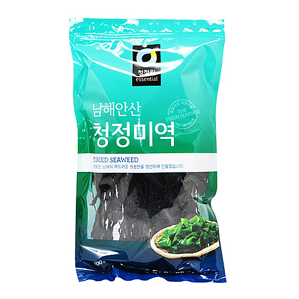 청정원 남해안산 청정 미역 100g
