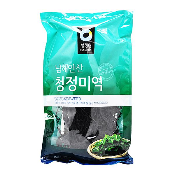 청정원 남해안산 청정 미역 150g 60인분