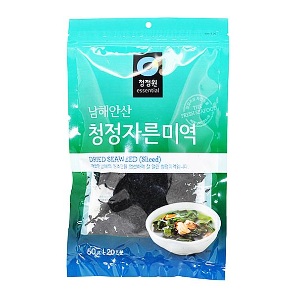 청정원 남해안산 청정 자른미역 50g 20인분