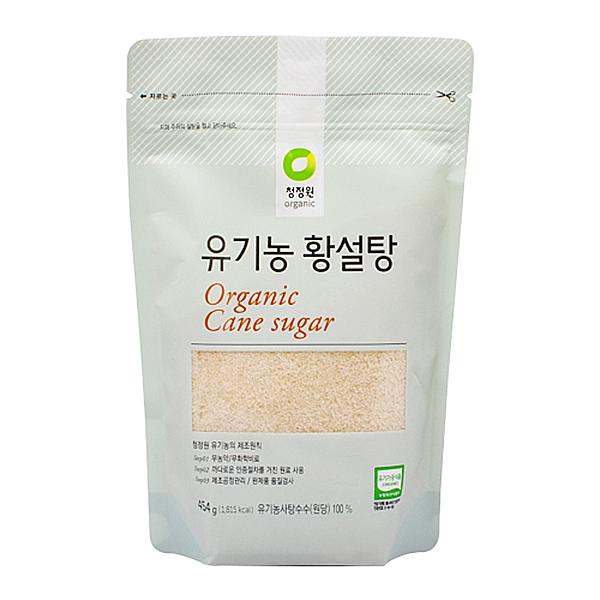 청정원 유기농 황설탕 454g