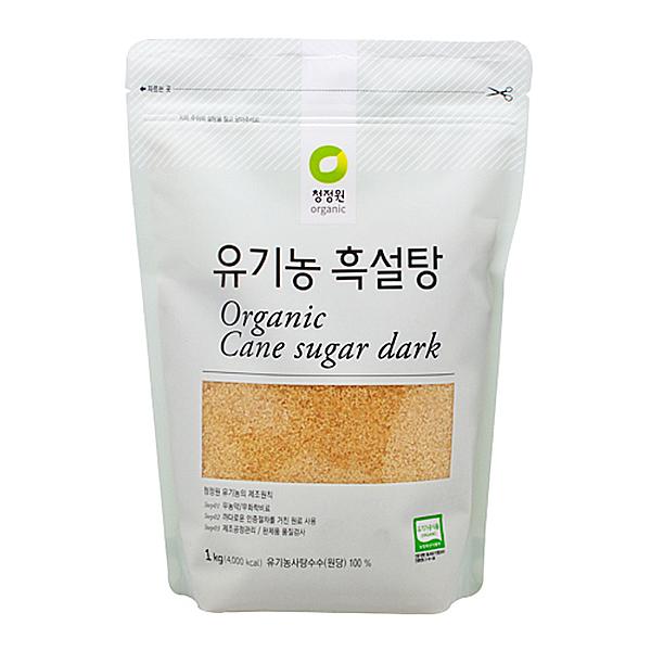 청정원 유기농 흑설탕 1kg