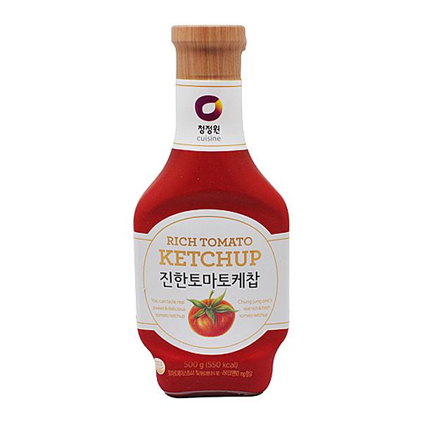 청정원 진한 토마토 케찹 500g