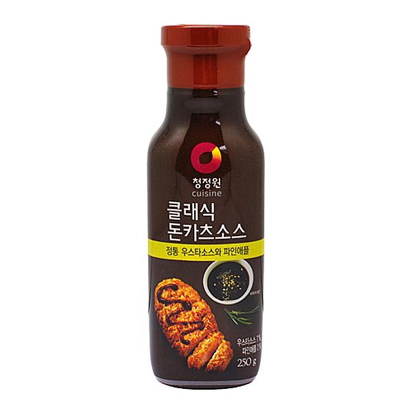 청정원 클래식 돈카츠 소스 250g