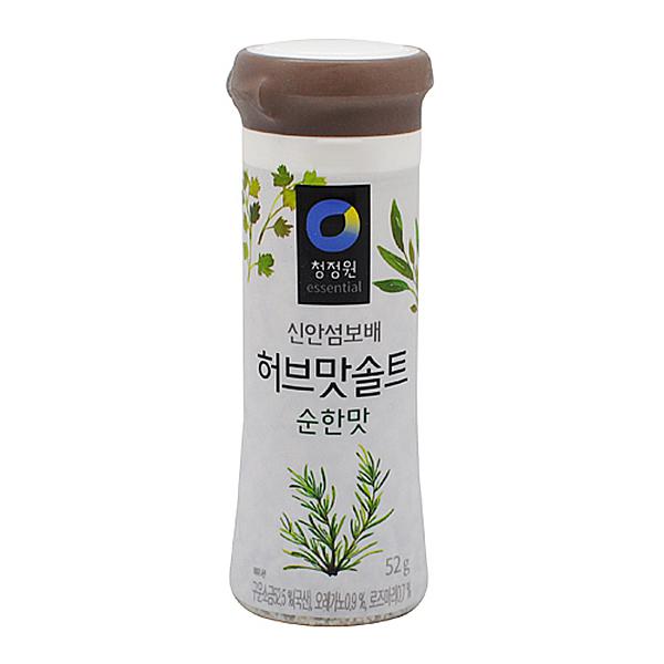 청정원 허브맛 솔트 순한맛 52g