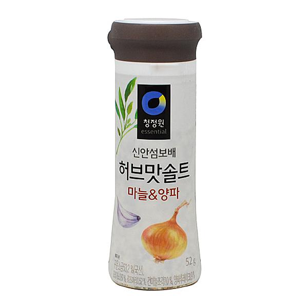 청정원 허브맛 솔트 마늘_양파 52g