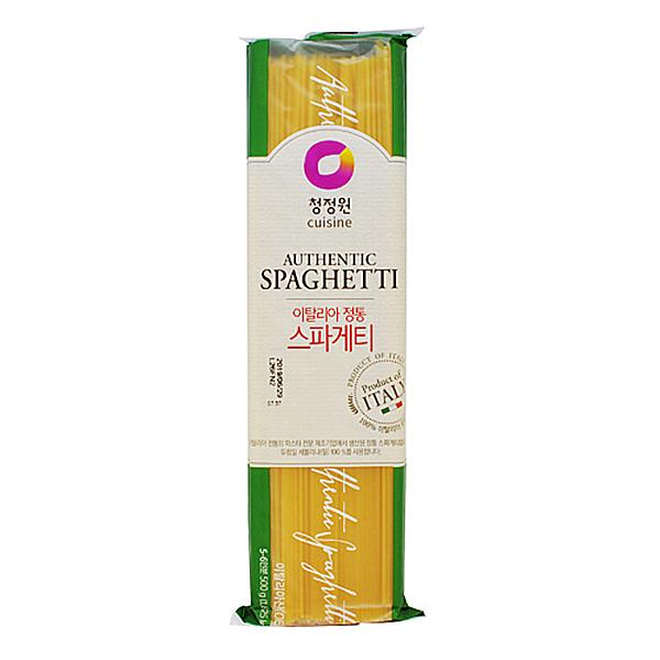 청정원 이탈리아 정통 스파게티 500g 5인분