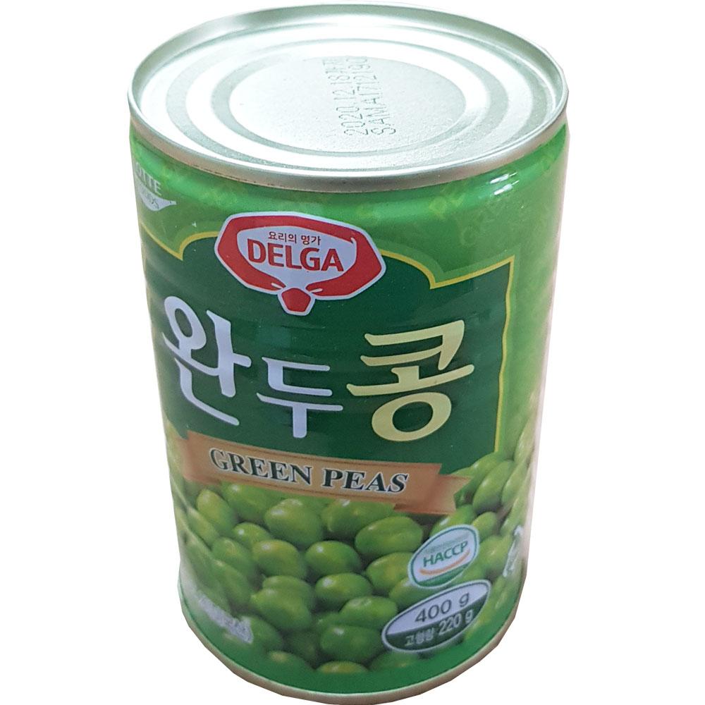 롯데푸드 완두콩 캔 통조림 400g X 24