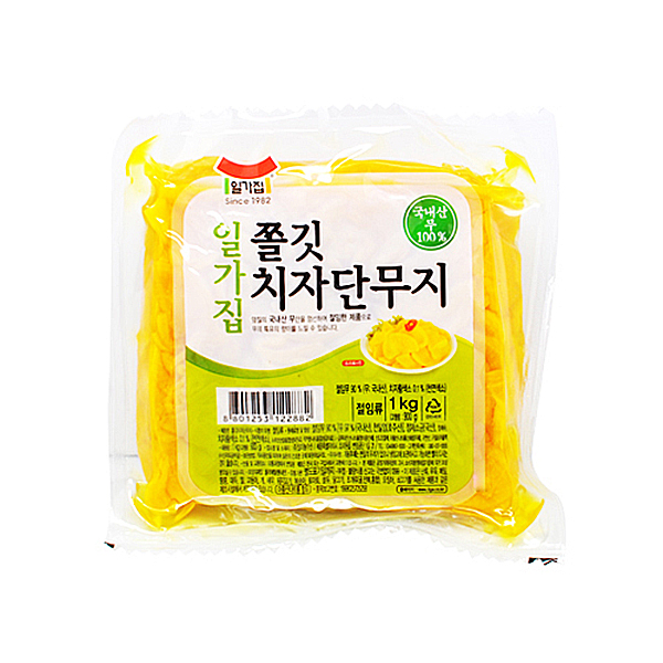 일가집 쫄깃 치자단무지 1kg