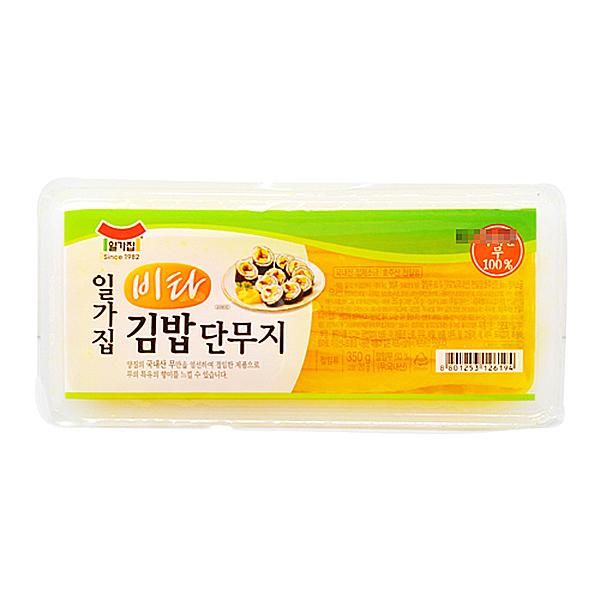 일가집 비타 김밥단무지 350g X 20EA_1BOX