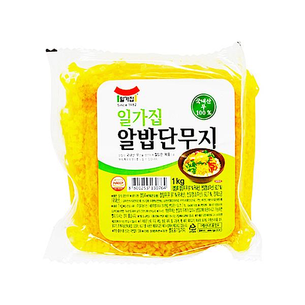 일가집 알밥단무지 1kg X 4EA_1BOX