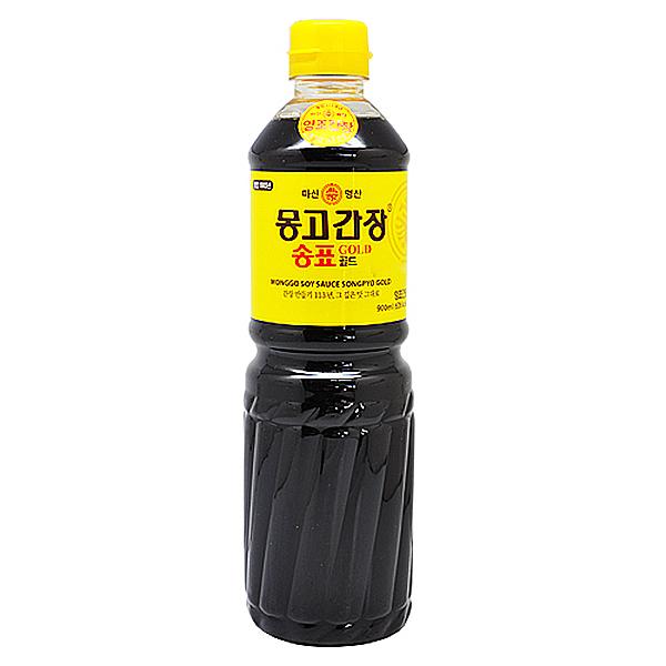 마산 명산 몽고 간장 송표 골드 900ml