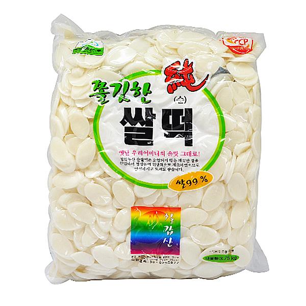 칠갑농산 쫄깃한 순 쌀떡 3.75kg
