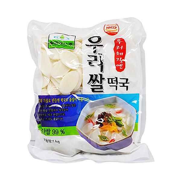 칠갑농산 우리 쌀떡국 1kg X 10EA _1BOX