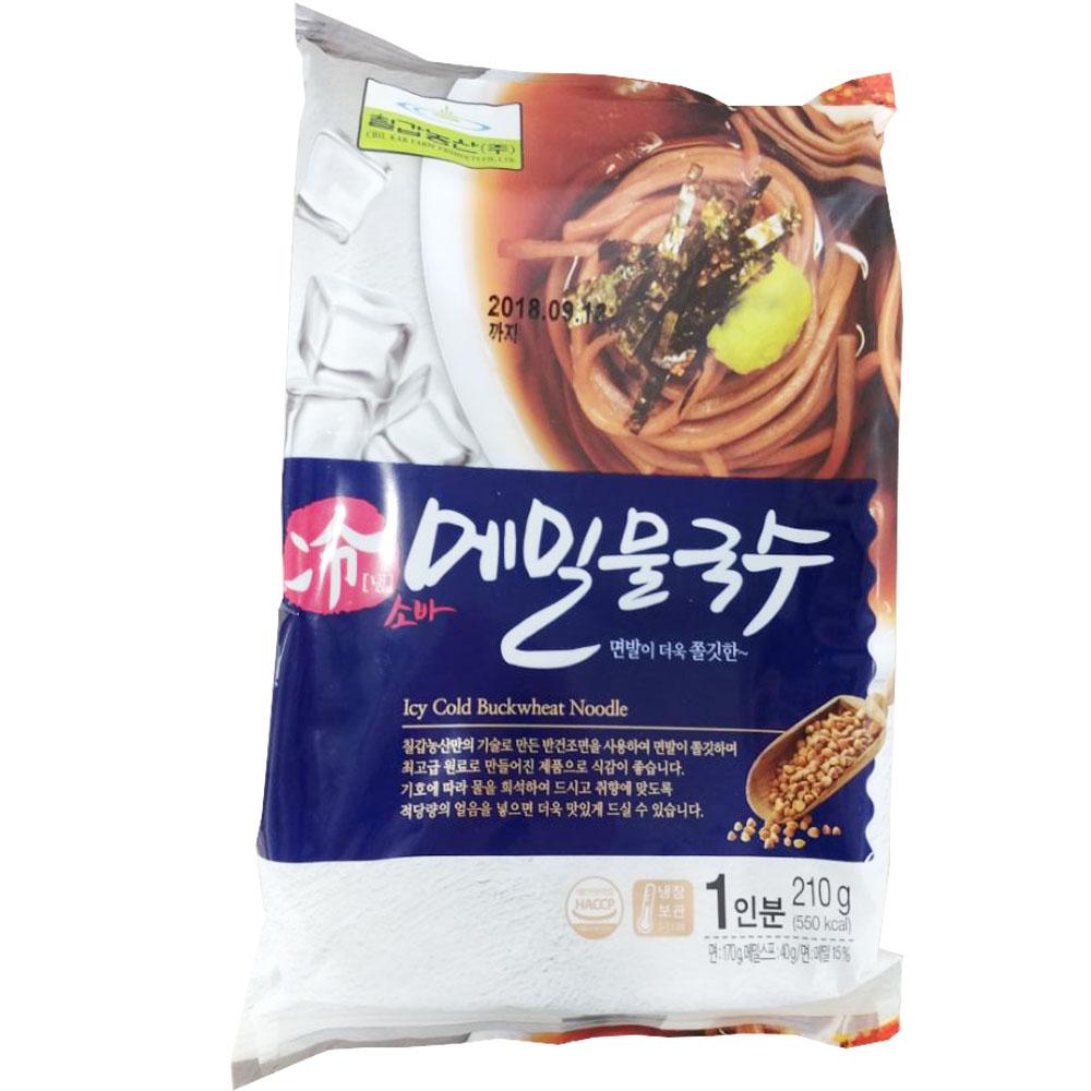 칠갑농산 메밀물국수 210g