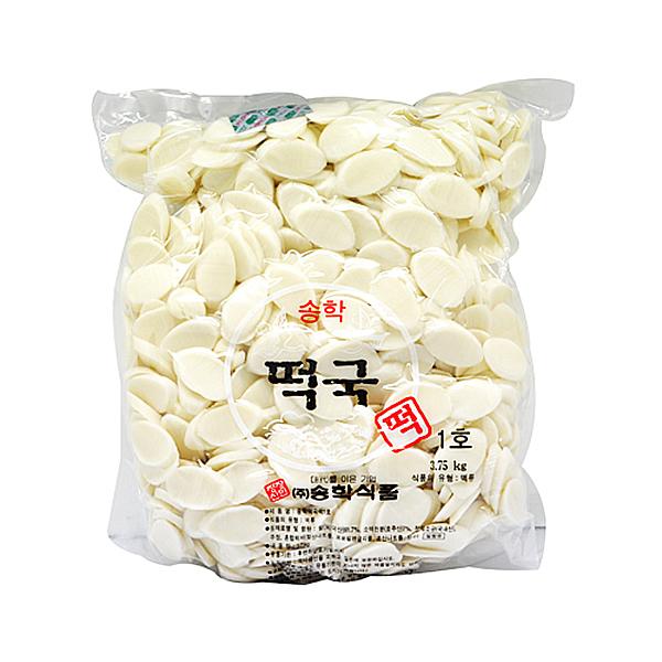 송학식품 떡국떡 3.75kg