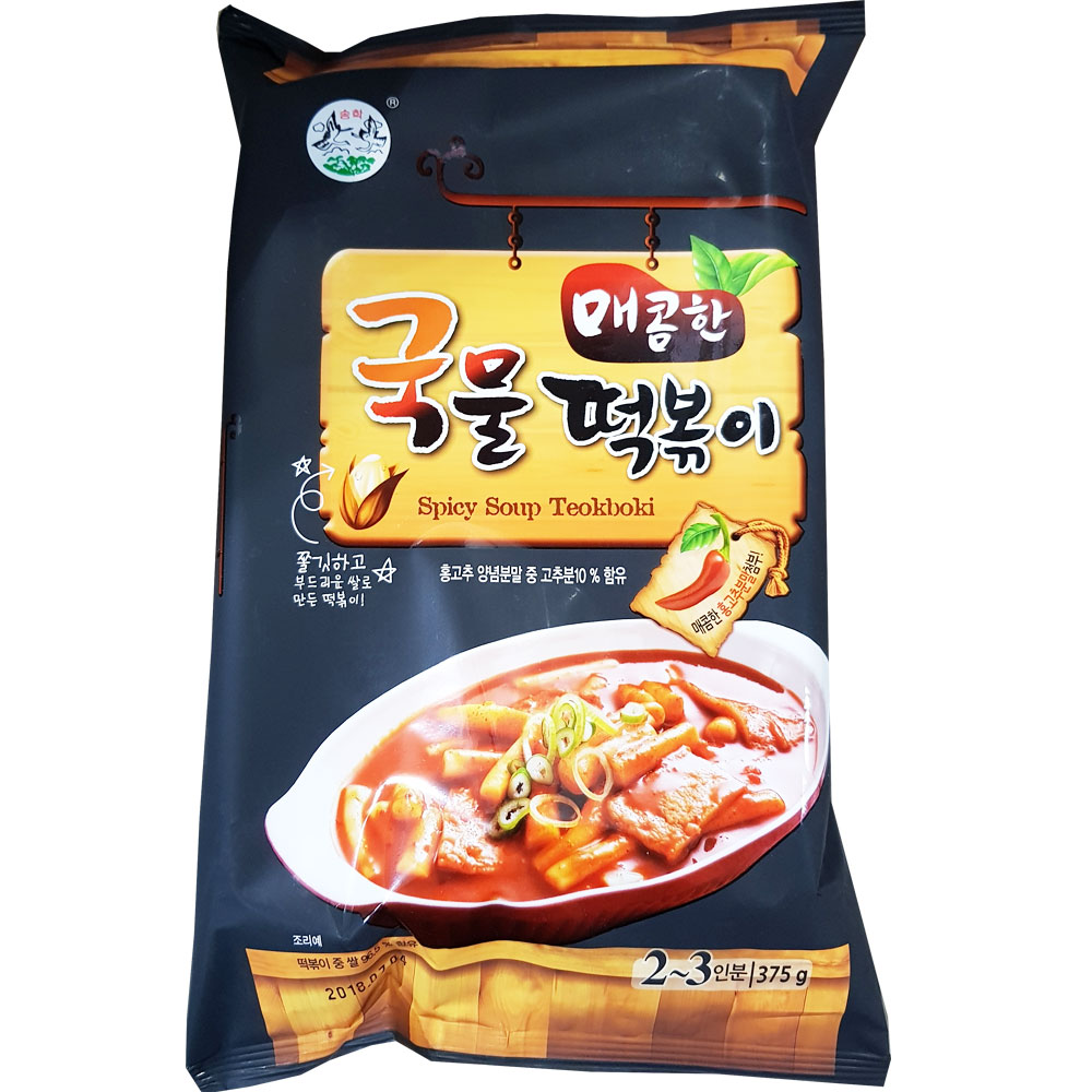 송학식품 매콤한 국물떡볶이 375g X 10EA_1BOX