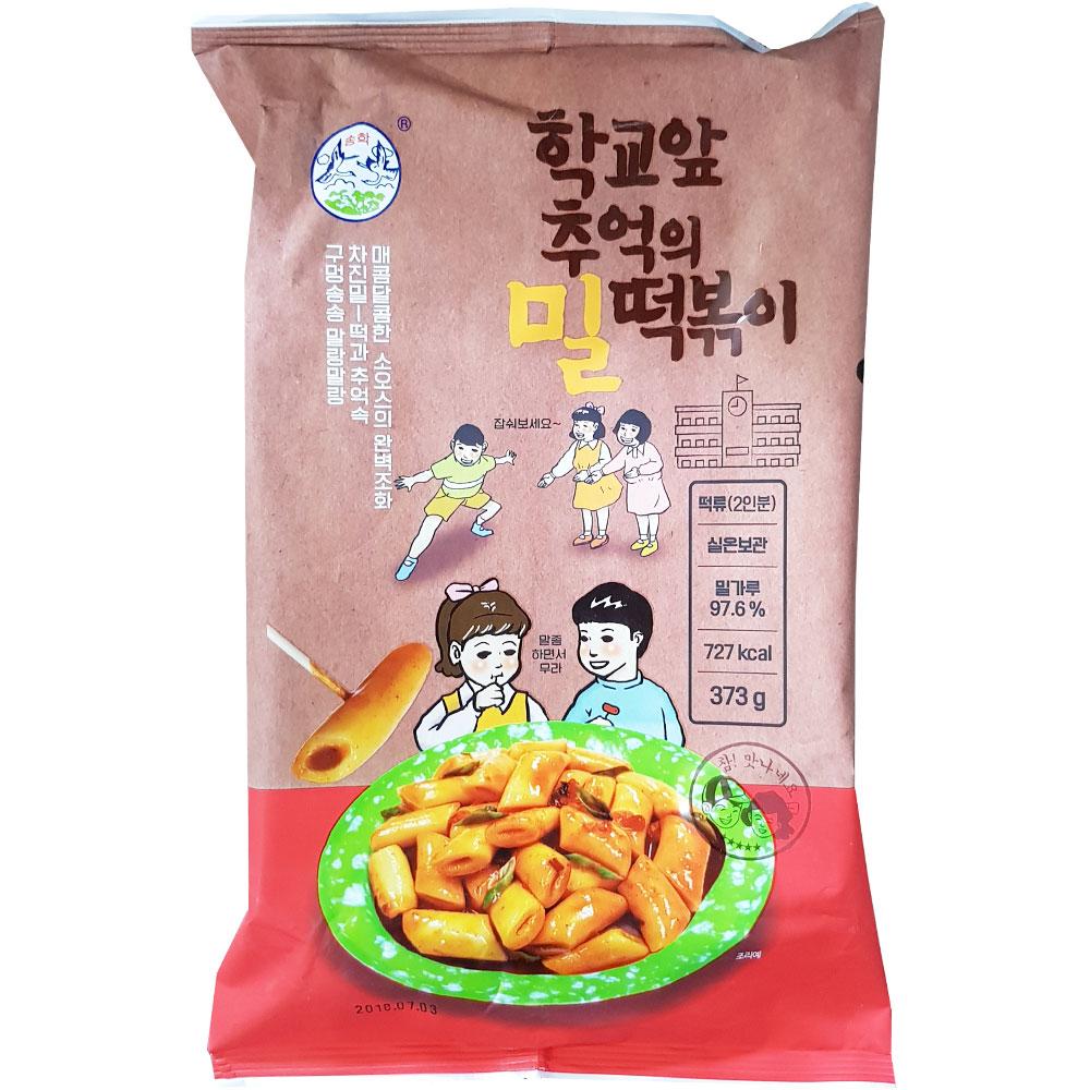 송학 추억의 밀떡볶이 373g