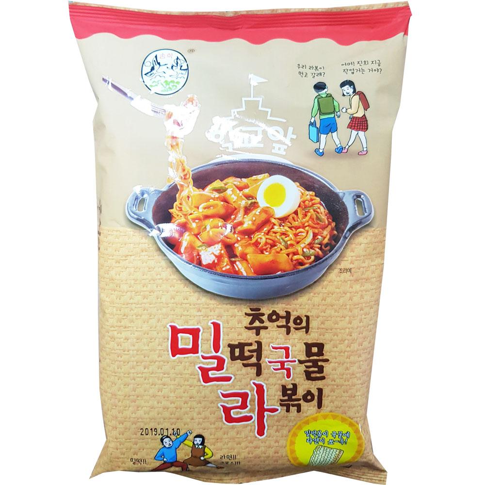 송학식품 축억의 밀떡 국물 라볶이 300g X 10
