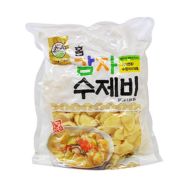 송학식품 감자수제비 1kg X 10EA_1BOX