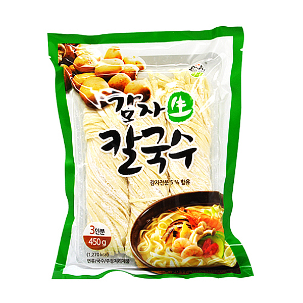 감자생칼국수(송학) 450g