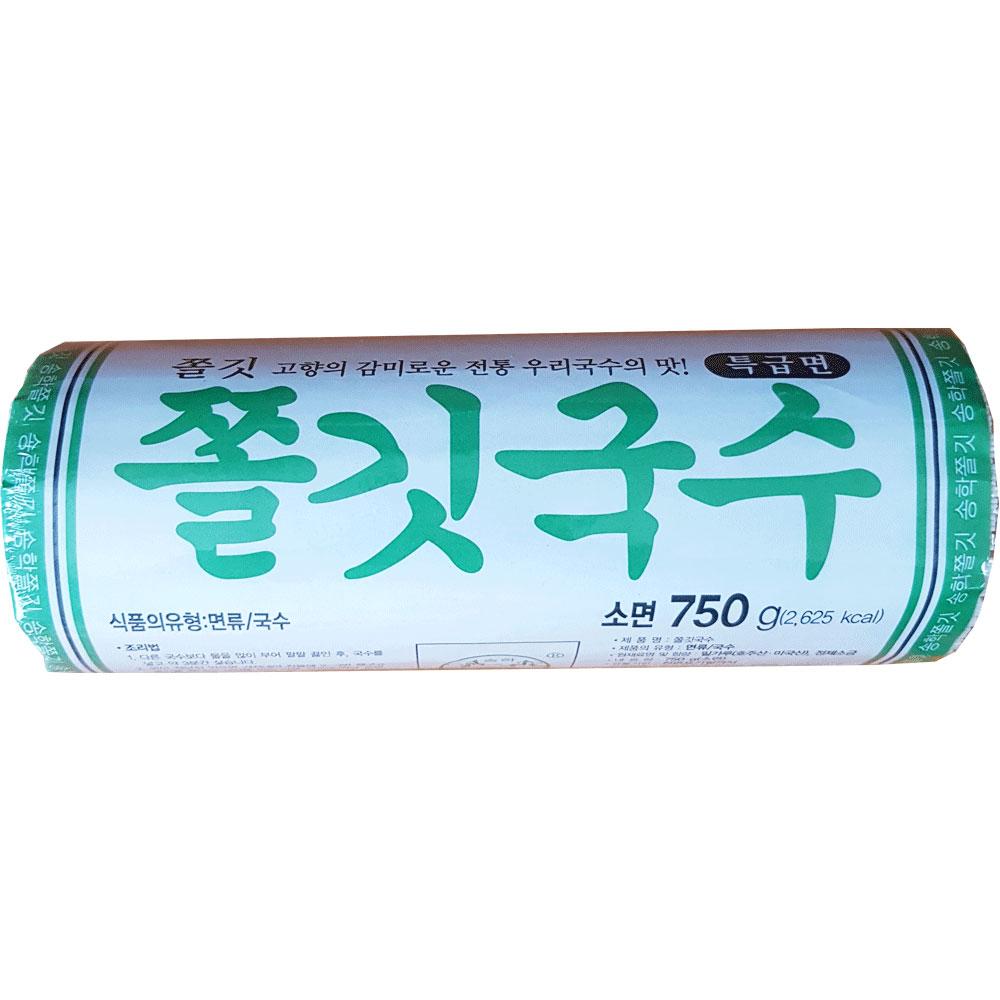 송학식품 쫄깃국수 소면 750g