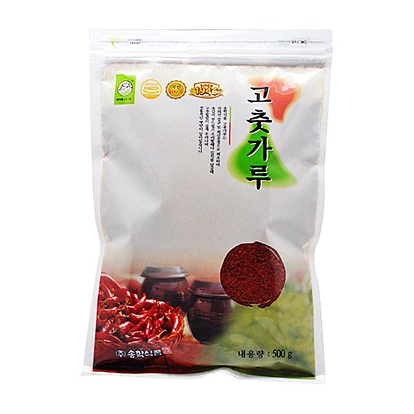 송학식품 국산 고추가루 500g