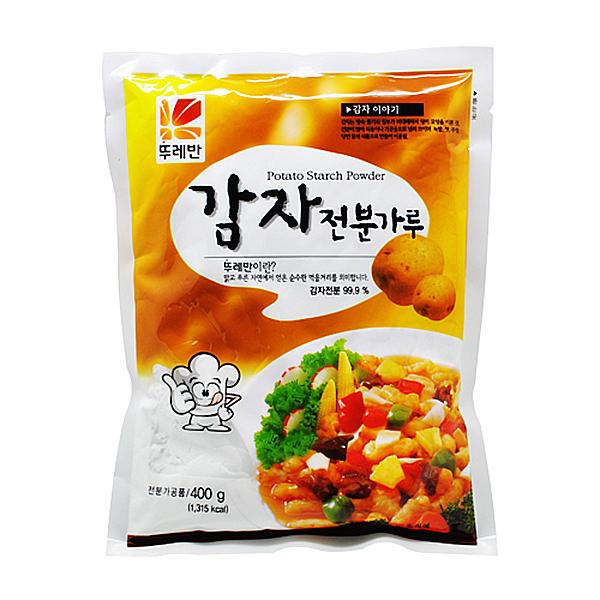 뚜레반 감자전분가루 400g
