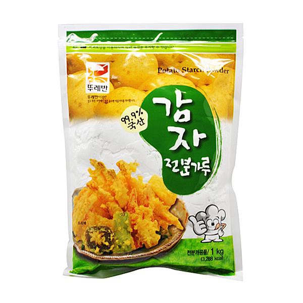 뚜레반 국산 감자전분가루 1kg