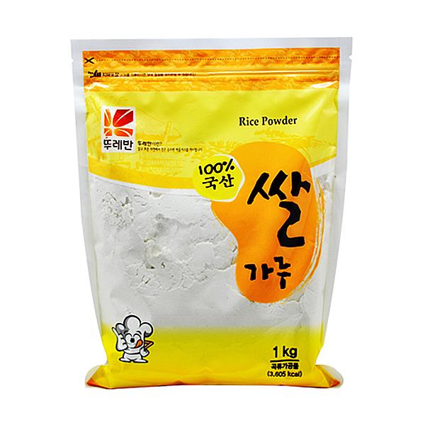 뚜레반 국산 쌀가루 1kg