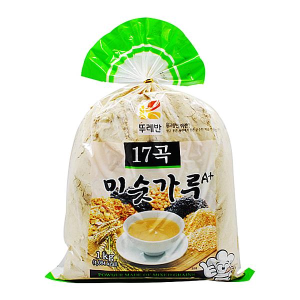 뚜레반 17곡 미숫가루 1kg X 12EA_1BOX