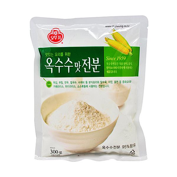 오뚜기 옥수수맛 전분 300g